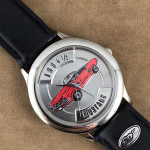 Vintage Relic 1964 Red Mustang Convertible Watch